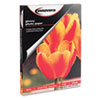 IVR99490 Glossy Photo Paper, 8-1/2 x 11, 100 Sheets/Pack IVR 99490