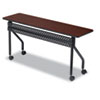 ICE68058 OfficeWorks Mobile Training Table, 60w x 18d x 29h, Mahogany ICE 68058