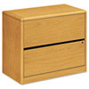HON10762CC 10700 Series Two-Drawer Lateral File, 36w x 20d x 29-1/2h, Harvest HON 10762CC