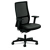 HONIW103NT10 Ignition Series Mesh Mid-Back Work Chair, Black Fabric Upholstered Seat HON IW103NT10