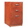 ALERN531629CM Verona Veneer Box/Box/File Pedestal File, 16w x 22d x 28-1/2h, Cherry ALE RN531629CM