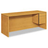 HON10545RCC 10500 Series 3/4-Height Right Pedestal Credenza, 72w x 24d x 29-1/2h, Harvest HON 10545RCC
