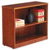 ALERN623036CM Verona Veneer Series Bookcase, 2 Shelves, 35-1/2w x 14d x 29-1/2h, Cherry ALE RN623036CM