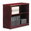 ALERN623036MM Verona Veneer Series Bookcase, 2 Shelves, 35-1/2w x 14d x 29-1/2h, Mahogany ALE RN623036MM
