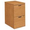 HON105104CC 10500 Series File/File Mobile Pedestal, 15-3/4w x 22-3/4d x 28h, Harvest HON 105104CC
