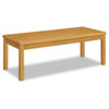 HON80191CC Laminate Occasional Table, Rectangular, 48w x 20d x 16h, Harvest HON 80191CC