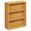 HON10753CC 10700 Series Bookcase, 3 Shelves, 36w x 13-1/8d x 43-3/8h, Harvest HON 10753CC