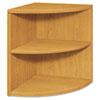 HON105520CC 10500 Series Two-Shelf End Cap Bookshelf, 24w x 24d x 29-1/2h, Harvest HON 105520CC