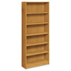 Laminate bookcases with radius edge and durable, long-lasting laminate finish.