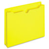 GLWB3043DTYEL File Jacket, Two Inch Expansion, Letter, Yellow, 50/Box GLW B3043DTYEL