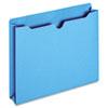 GLWB3043DTBLU File Jacket, Two Inch Expansion, Letter, Blue, 50/Box GLW B3043DTBLU