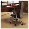 FLR1113423LR ClearTex Ultimat Polycarbonate Chair Mat for Carpet, 48 x 53, With Lip, Clear FLR 1113423LR