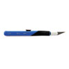 EPIX3204 Retract-A-Blade Knife, #11 Blade, Blue/Black EPI X3204