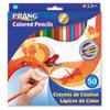 DIX22480 Colored Woodcase Pencils, 3.3 mm, 50 Assorted Colors/Set DIX 22480