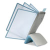 DBL594406 Sherpa Style Desk Reference System, 20 Sheet Capacity, Titanium DBL 594406
