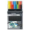 DIX6521240 Dual Tip Marker, Assorted, 24 per Pack DIX 6521240