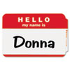 C-Line® Self-Adhesive Name Badges | www.SelectOfficeProducts.com