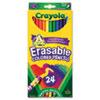 Crayola Erasable Color Pencil Set