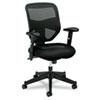 BSXVL531MM10 VL531 High-Back Work Chair, Mesh Back, Padded Mesh Seat, Black BSX VL531MM10