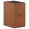 BSXBL2163A1A1 BL Laminate Two-Drawer Pedestal File, 15-5/8w x 21-3/4d x 27-3/4h, Medium Cherry BSX BL2163A1A1