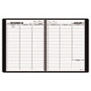 AAG7095050 Recycled Weekly Appointment Book, Winestone, 8 1/4