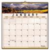 Visual Organizer Open Plan Landscape Wall Calendar