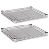 ALESW581818SR Industrial Wire Shelving Extra Wire Shelves, 18w x 18d, Silver, 2 Shelves/Carton ALE SW581818SR