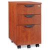 ALEVA572816MC Valencia Mobile Box/Box/File Pedestal File, 15-7/8 x 20-1/2 x 28-3/8, Med Cherry ALE VA572816MC