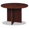 "Laminate conference table with 1"" top and leveling glides."
