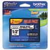BRTTZE2312PK TZe Standard Adhesive Laminated Labeling Tapes, 1/2w, Black on White, 2/Pack BRT TZE2312PK
