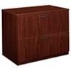 BSXBL2171NN BL Laminate Two-Drawer Lateral File, 35-1/2w x 22d x 29h, Mahogany BSX BL2171NN