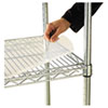 ALESW59SL3618 Shelf Liners For Wire Shelving, 36w x 18d, Clear Plastic, 4/Pack ALE SW59SL3618