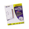 C-Line Colored Edge Sheet Protector