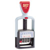 COS011034 2000 PLUS Two-Color Word Dater, Received, Self-Inking COS 011034