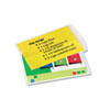 FEL52008 Laminating Pouches, 5 mil, 3 1/2 x 5 1/2, Index Card Size, 25/Pack FEL 52008