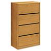 HON107699CC 10700 Series Four-Drawer Lateral File, 36w x 20d x 59-1/8h, Harvest HON 107699CC