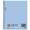 MEA06552 Mid Tier Single Subject Notebook, College Rule, Ltr, White, 50 Sheets/Pad MEA 06552
