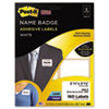 Post-it® Super Sticky Name Badge Labels | www.SelectOfficeProducts.com