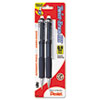 PENQE519BP2K6 Twist-Erase III Mechanical Pencil, 0.9 mm, Assorted Barrels, 2/Pk PEN QE519BP2K6