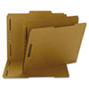 SMD14882 11 Point Kraft Folders, Two Fasteners, 2/5 Cut Right Tab, Letter, Brown, 50/Box SMD 14882