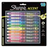 SAN24415PP Accent Liquid Pen Style Highlighter, Chisel Tip, Assorted, 10/Set SAN 24415PP