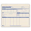 TOP32801 Employee Record Master File Jacket, 9 1/2 x 11 3/4, 10 Point Manila, 15/Pack TOP 32801
