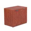 ALEVA613622MC Valencia Series Storage Cabinet, 34w x 22-3/4d x 29-1/2h, Medium Cherry ALE VA613622MC