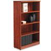 ALEVA635632MC Valencia Series Bookcase, 4 Shelves, 31-3/4w x 12-1/2d x 55h, Medium Cherry ALE VA635632MC