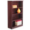 ALEVA635632MY Valencia Series Bookcase, 4 Shelves, 31-3/4w x 12-1/2d x 55h, Mahogany ALE VA635632MY