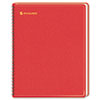 AAG7012413 Fashion Unruled Monthly Planner, 6-7/8 x 8-3/4, Red, 2015 AAG 7012413