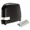 BOSB8EVALUE B8 Heavy-Duty Electric Stapler Value Pack, 45-Sheet Capacity, Black BOS B8EVALUE