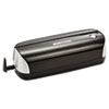 BOSEHP3BLK 12-Sheet Capacity Electric Three-Hole Punch, Black BOS EHP3BLK