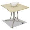 LITTR702OAT Trento Line Palermo Table, 33w x 31-1/2d x 29-1/2h, Oatmeal LIT TR702OAT