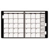 "AAG7092376 Appointment Book Refill For Three- Or Five-Year Planner, Black, 9"" x 11"", 2016 AAG 7092376"